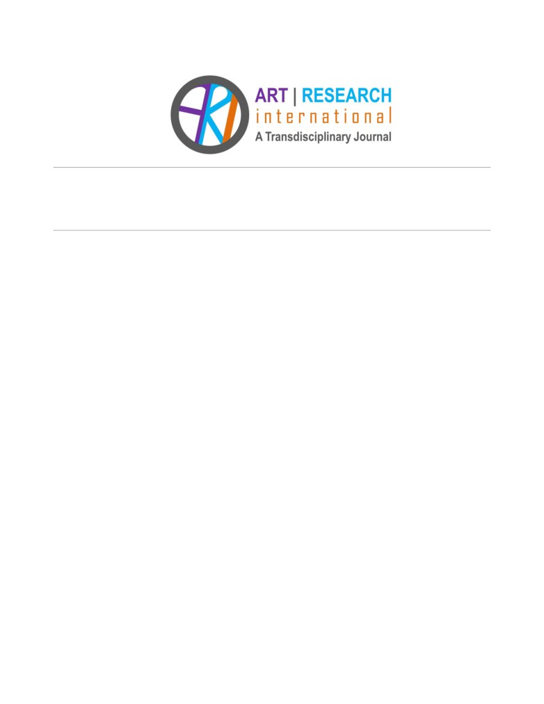 Arts-based Methods in Socially Engaged Research Practice: A ...
