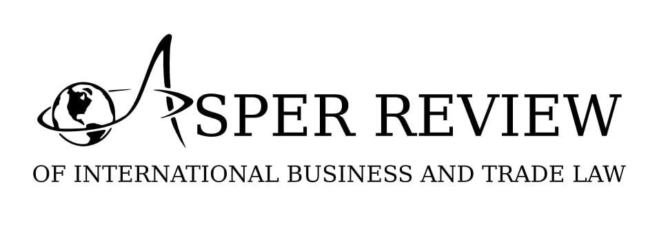 Asper Review of International Business and Trade Law
