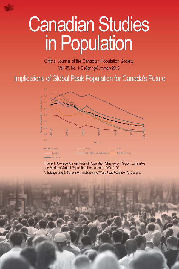 IMPLICATIONS OF GLOBAL PEAK POPULATION FOR CANADA'S FUTURE