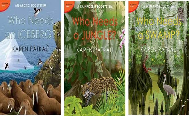 Ecosystem Series: Who needs an Iceberg; Jungle; Swamp