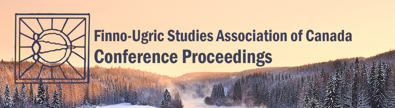 Finno-Ugric Studies Association of Canada Conference Proceedings