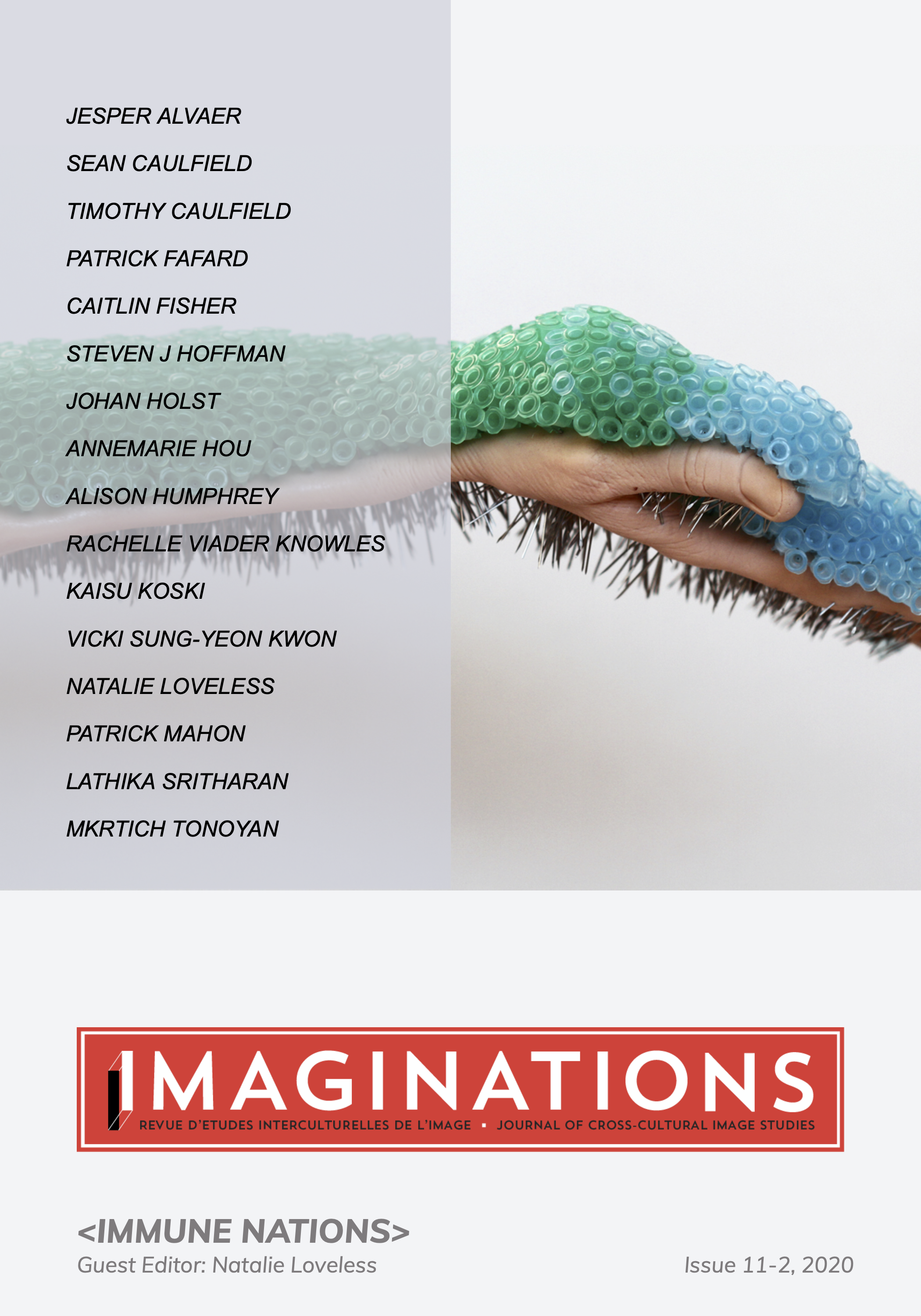 Imaginations 11-2 Cover: Kaisu Koski, Injection Simulator (2015)