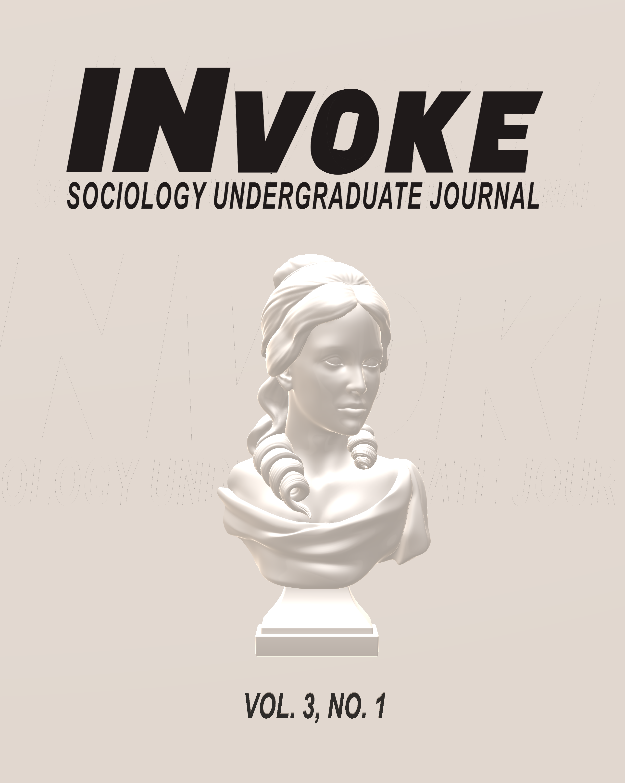 INvoke Sociology Undergraduate Journal: Vol. 3, No. 1