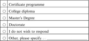 Appendix A: Question 18