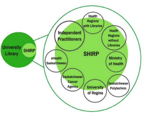 Fig. 1         Stakeholder Reliance on SHIRP Resources and Services