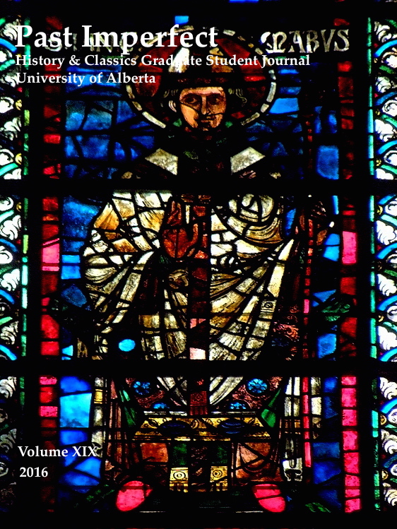 Archbishop Hincmar, detail from window in the basilica of Saint-Rémi of Rheims