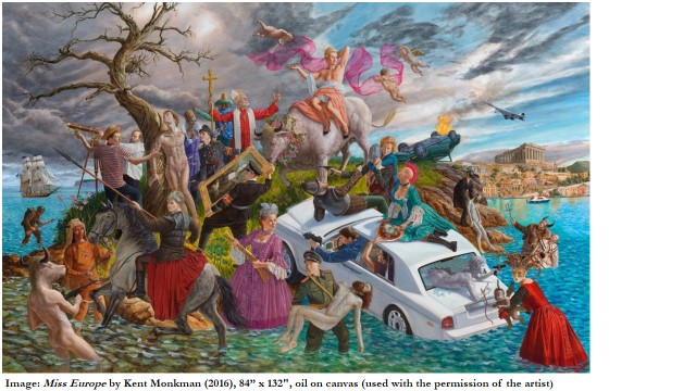 Miss Europe by Kent Monkman (used with his permission)