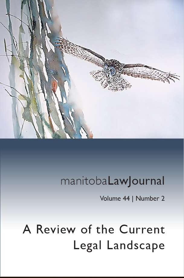 View Vol. 44 No. 2 (2021): A Review of the Current Legal Landscape