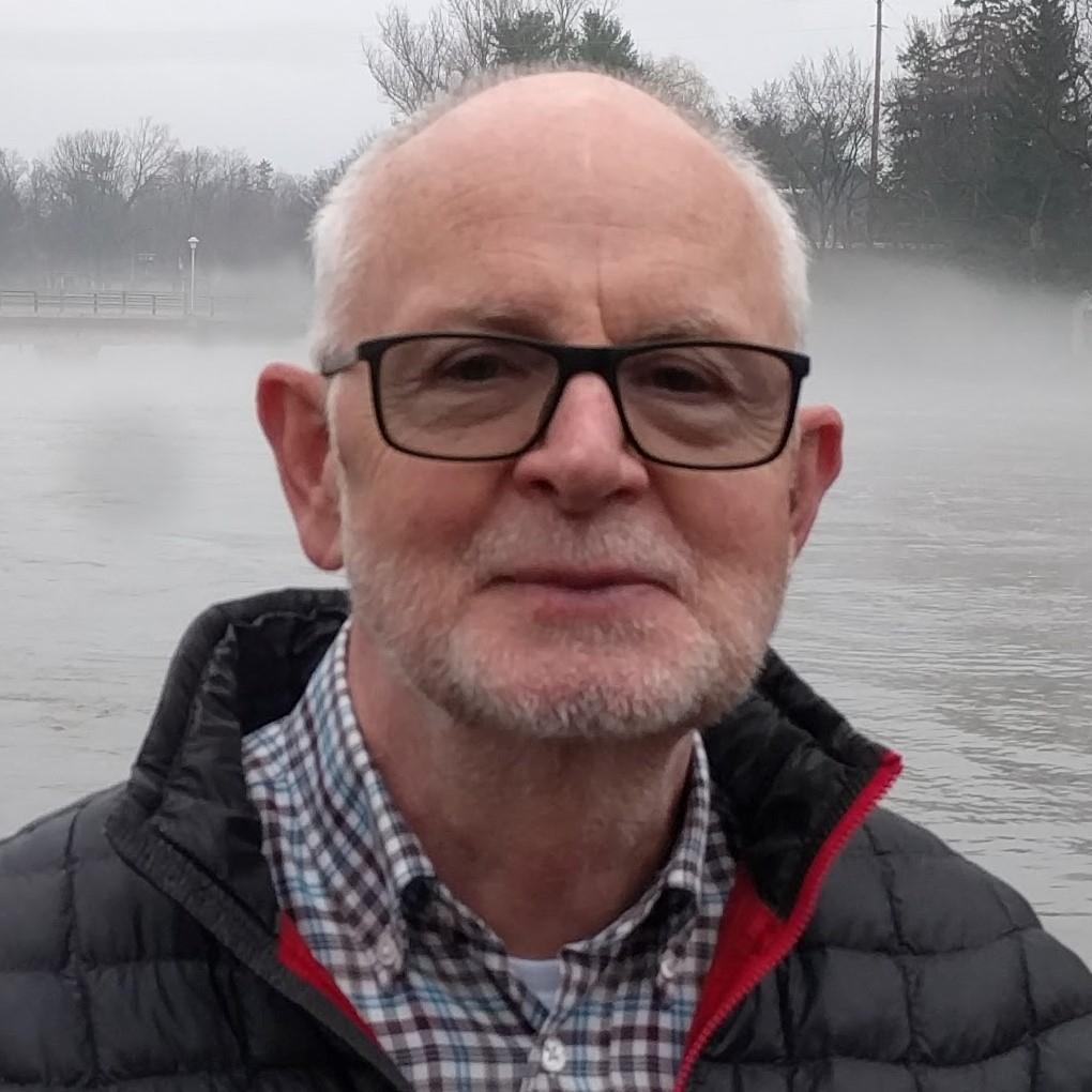 Dr Robert Carroll circa 2017; photo by H. Larsson